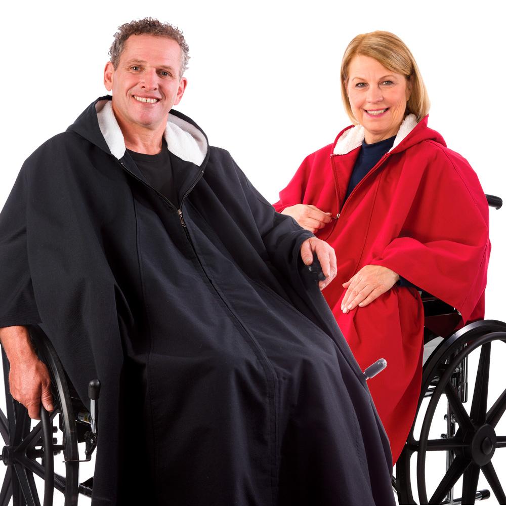 *RollyT* Rollstuhlponcho Allwetter-Cape Herren