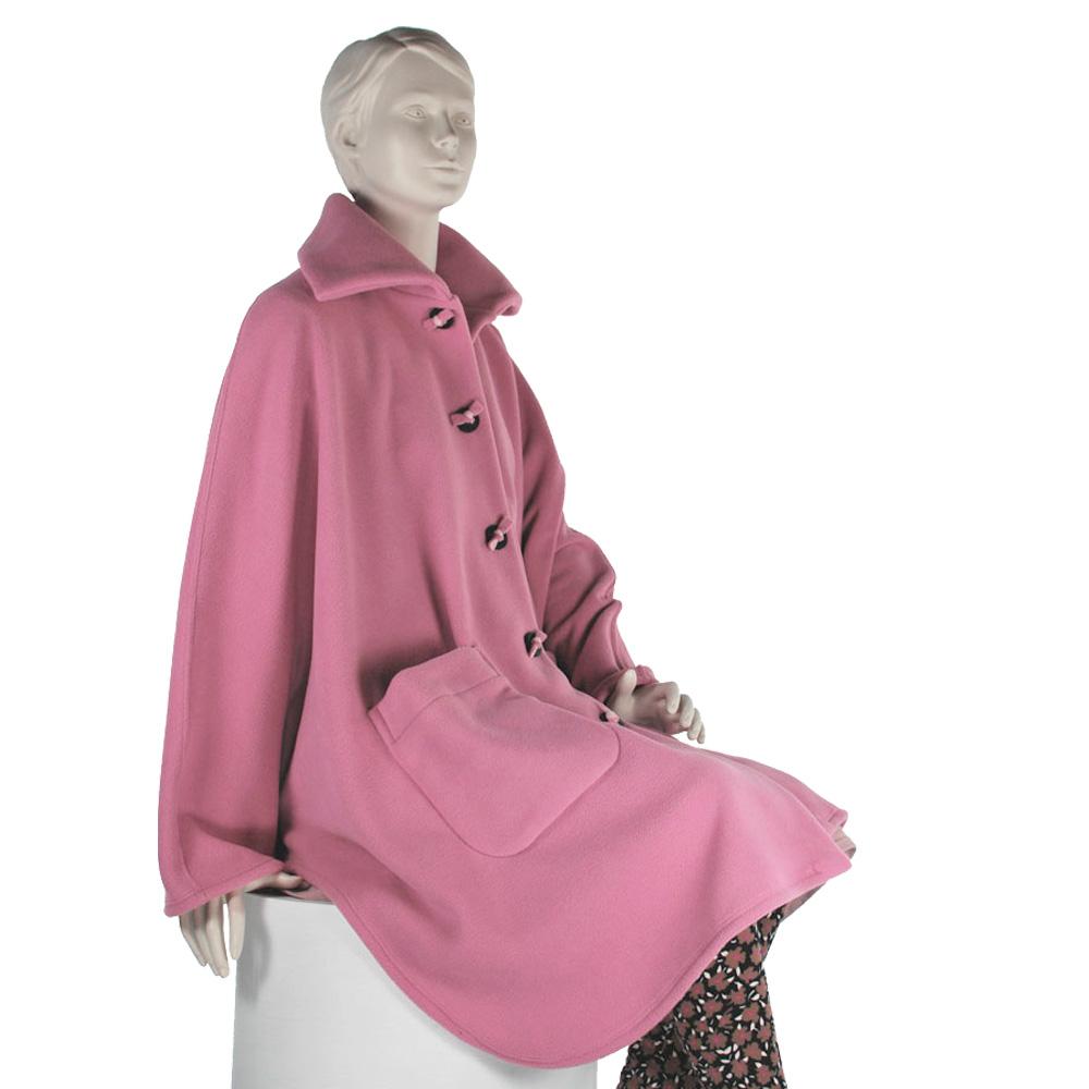 *RollyT* Damen Rollstuhl Fleece Mantel